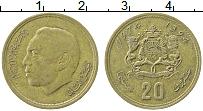 Изображение Монеты Марокко 20 сантим 1974 Латунь XF Хасан II