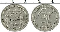 Изображение Монеты Западная Африка 50 франков 1972 Медно-никель XF