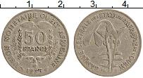 Изображение Монеты Западная Африка 50 франков 1975 Медно-никель XF