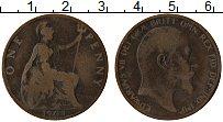 Изображение Монеты Великобритания 1 пенни 1903 Бронза VF Эдуард VII