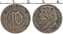 Изображение Монеты Германия : Нотгельды 10 пфеннигов 1920 Железо XF Бонн