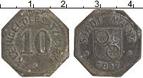 Изображение Монеты Германия : Нотгельды 10 пфеннигов 1917 Цинк XF- Майнц