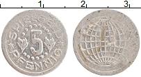 Изображение Монеты ФРГ 5 пфеннигов 0 Алюминий XF Токен. Игровой жетон
