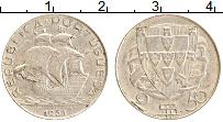 Изображение Монеты Португалия 2 1/2 эскудо 1951 Серебро XF