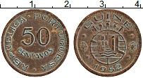 Изображение Монеты Гвинея 50 сентаво 1952 Бронза VF Протекторат Португал