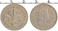 Изображение Монеты Нигерия 1 шиллинг 1961 Медно-никель XF