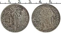 Изображение Монеты Бельгийское Конго 1 франк 1923 Медно-никель VF