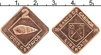 Продать Монеты Кабинда 2 сентаво 2006 Бронза