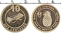 Продать Монеты Кабинда 10 сентаво 2008 Медно-никель