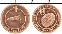 Продать Монеты Кабинда 1 сентаво 2008 Медь