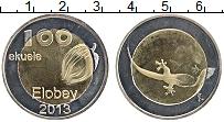 Изображение Монеты Элобей 100 экуэле 2013 Биметалл UNC-