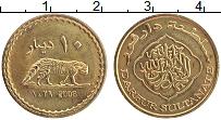 Продать Монеты Дарфур 10 динар 2008 Латунь