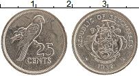 Изображение Монеты Сейшелы 25 центов 1982 Медно-никель XF