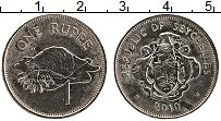 Изображение Монеты Сейшелы 1 рупия 2010 Медно-никель XF