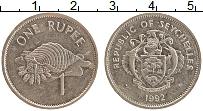 Изображение Монеты Сейшелы 1 рупия 1992 Медно-никель XF