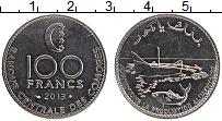 Изображение Монеты Коморские острова 100 франков 2013 Железо UNC-