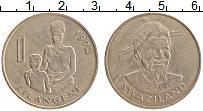 Изображение Монеты Свазиленд 1 лилангени 1974 Медно-никель XF