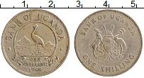 Изображение Монеты Уганда 1 шиллинг 1966 Медно-никель XF