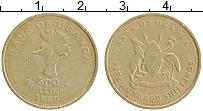 Изображение Монеты Уганда 500 шиллингов 1998 Латунь XF