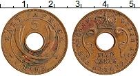 Изображение Монеты Восточная Африка 5 центов 1963 Бронза XF