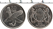 Продать Монеты Ботсвана 50 тебе 2013 Сталь покрытая никелем