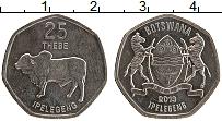Продать Монеты Ботсвана 25 тебе 2013 Сталь покрытая никелем
