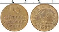 Продать Монеты Данциг 10 пфеннигов 1932 Медь