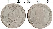 Изображение Монеты Пруссия 4 гроша 1797 Серебро VF