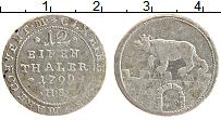 Продать Монеты Анхальт-Бембург 1/12 талера 1799 Серебро