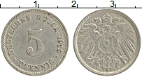 Изображение Монеты Германия 5 пфеннигов 1915 Медно-никель XF D