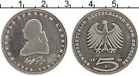 Изображение Монеты ФРГ 5 марок 1981 Медно-никель UNC- Готхольд Эфраим Лесс
