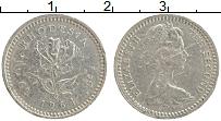Продать Монеты Родезия 6 пенсов 1964 Медно-никель