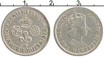 Изображение Монеты Маврикий 1/4 рупии 1978 Медно-никель XF