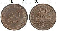 Изображение Монеты Мозамбик 50 сентаво 1974 Бронза XF Португальская колони