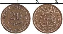 Изображение Монеты Мозамбик 20 сентаво 1974 Бронза XF Португальская колони