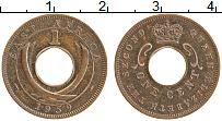 Изображение Монеты Восточная Африка 1 цент 1959 Бронза XF Елизавета II.