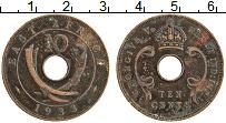 Изображение Монеты Восточная Африка 10 центов 1933 Бронза XF