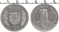 Изображение Монеты Швейцария 5 франков 1996 Медно-никель UNC-
