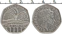 Изображение Монеты Великобритания 50 пенсов 2000 Медно-никель XF