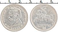 Изображение Монеты Литва 5 лит 1936 Серебро XF