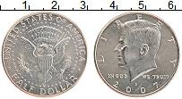 Изображение Монеты США 1/2 доллара 2007 Медно-никель UNC-