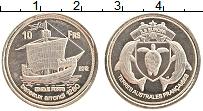 Изображение Монеты Франция Острова Европа 10 франков 2012 Медно-никель UNC-