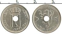 Изображение Монеты Норвегия 25 эре 1921 Медно-никель XF