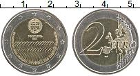 Изображение Монеты Португалия 2 евро 2008 Биметалл UNC- 60 лет Декларации Пр