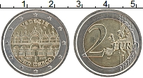 Изображение Монеты Италия 2 евро 2017 Биметалл UNC-