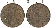 Изображение Монеты Венгрия 1 филлер 1896 Медь VF