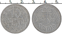 Изображение Монеты Сербия 10 динар 1943 Цинк VF Немецкая оккупация