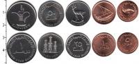 Изображение Наборы монет ОАЭ ОАЭ 1996-2012 0  UNC В наборе 5 монет ном