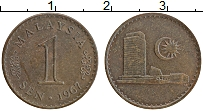 Изображение Монеты Малайзия 1 сен 1967 Бронза XF