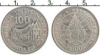 Изображение Монеты Индонезия 100 рупий 1978 Медно-никель UNC- Лесное хозяйство для